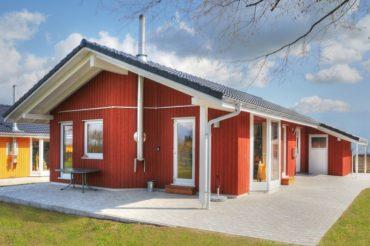 Ostseeferien im Holzhaus