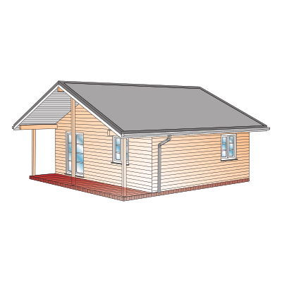 Das Schwedenhaus als Ferienhaus | VIERCK Schwedenhäuser