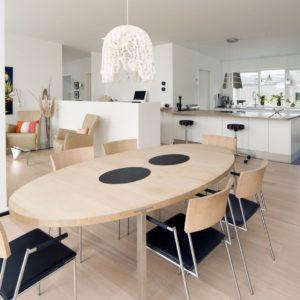 Schwedenhaus Helsingborg - Helle Farben schaffen Gemütlichkeit