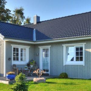 1-geschossige Schwedenhäuser