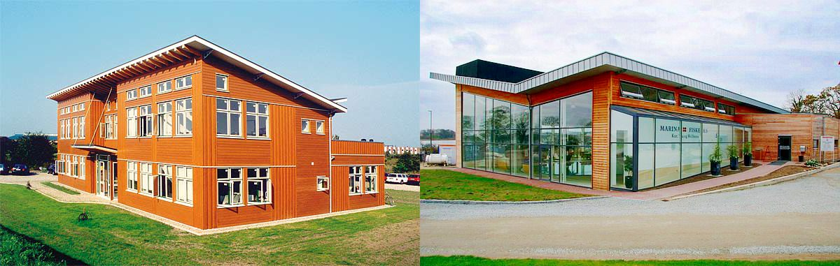 Gewerbebauten als Schwedenhaus