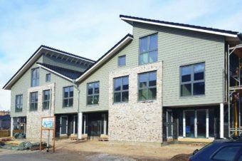Neubau hochwertiger Reihenhäuser in Flensburg Groß-Tarup