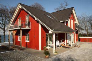 Vierck Holzhaus in Schwedenhaus-Bauweise