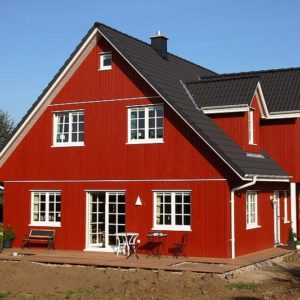 1½ – geschossige Schwedenhäuser